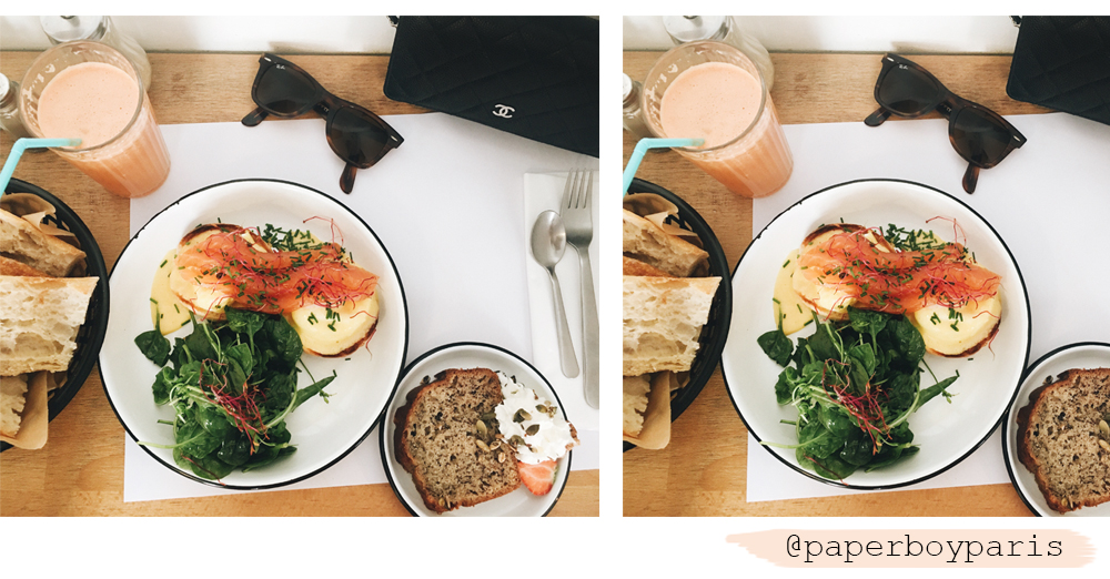 Paperboy Paris – Brunch Hotspot